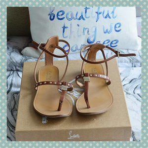 3/$30 - Zara Strappy Flat Sandals